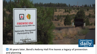 Central Oregon's Awbrey Hall Fire: Safety and prevention 30 years later