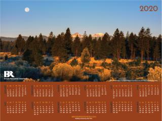 2020 Wall Calendar Now Available