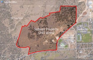 The Purchase of Remaining Miller Tree Farm Property